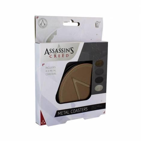 Paladone Σουβέρ μεταλλικά Assassin's Creed (4 Τεμάχια) (PP4100AS)