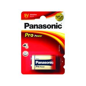 Panasonic Pro Power Alkaline 9v - 1 Pack