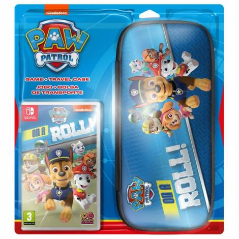 Paw Patrol: On A Roll & Switch Case Bundle (NINTENDO SWITCH)