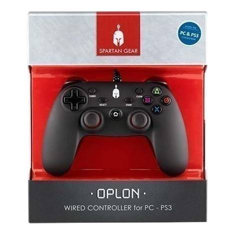 PC/PS3 Spartan Gear Oplon Wired Controller