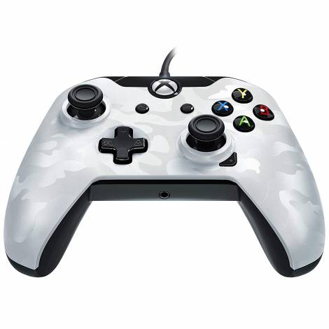 PDP Gaming Conroller Wired White Camo (Xbox One)