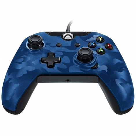 PDP Wired Controller Blue Camo (Xbox One)
