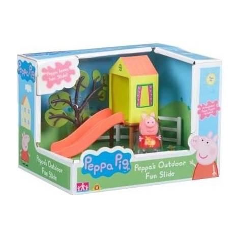 Peppa Pig Παιδική Χαρά - Τσουλήθρα (PPC21000)