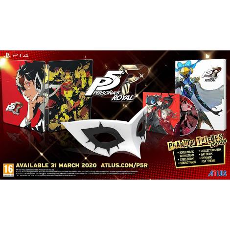Persona 5 Royal Phantom Thieves Edition (PS4)