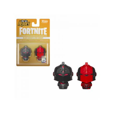 Pint Size Heroes 2-Pack: Fortnite - Black Knight & Red Knight