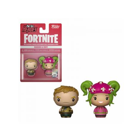 Pint Size Heroes 2-Pack: Fortnite - Ranger & Zoey
