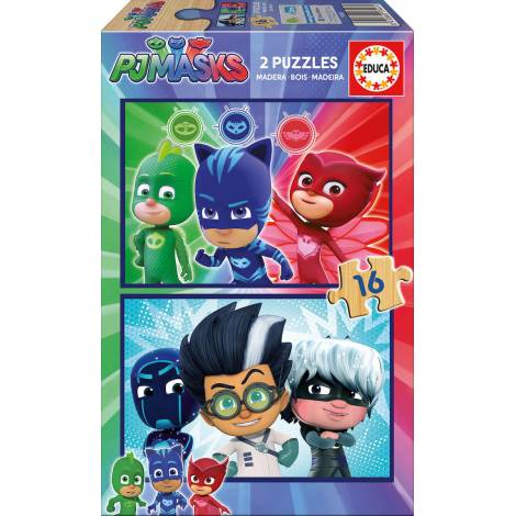 PJ Masks 2x16pcs (17447) Educa