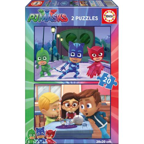 PJ Masks 2x20pcs (17274) Educa