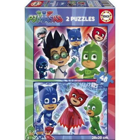 PJ Masks 2x48pcs (17275) Educa