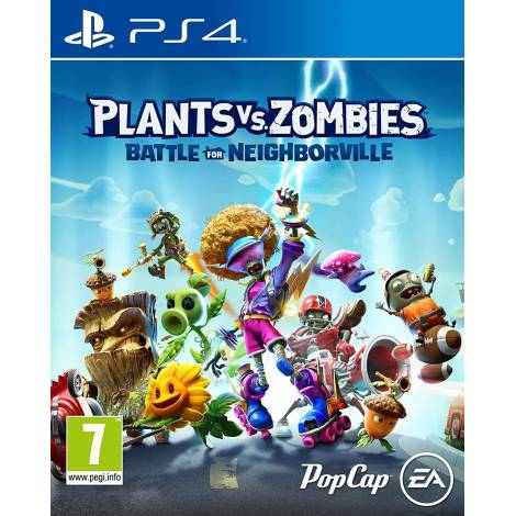 Plants Vs Zombies: Battle For Neighborville (PS4) (Day One Edition)