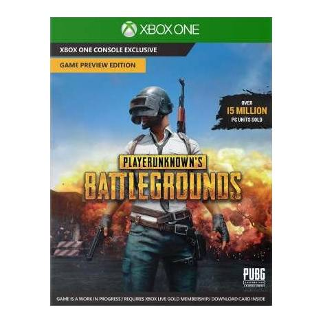 Player Unknown`s Battlegrounds - Code In A Box (XBOX ONE)