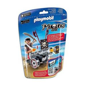 Playmobil 6165 Μαύρο κανόνι με πυροβολητή