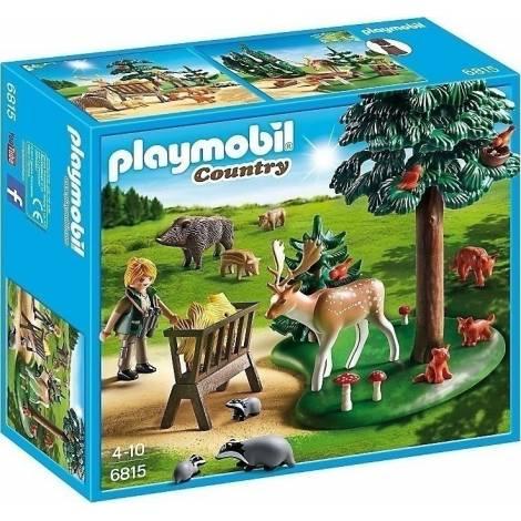Playmobil Δασοφύλακας με ζώα δάσους (6815)