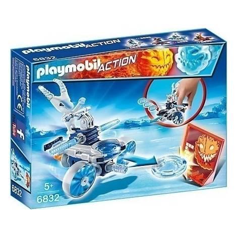 Playmobil Icefighter με εκτοξευτή δίσκων (6832)