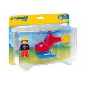 Playmobil - Πυροσβεστικό Ελικόπτερο 6789