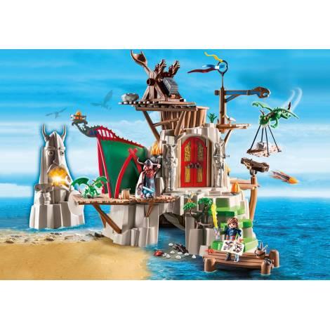 Playmobil Στο νησί του Μπέρκ - με ελαφρώς πιεσμένο κουτάκι (9243)