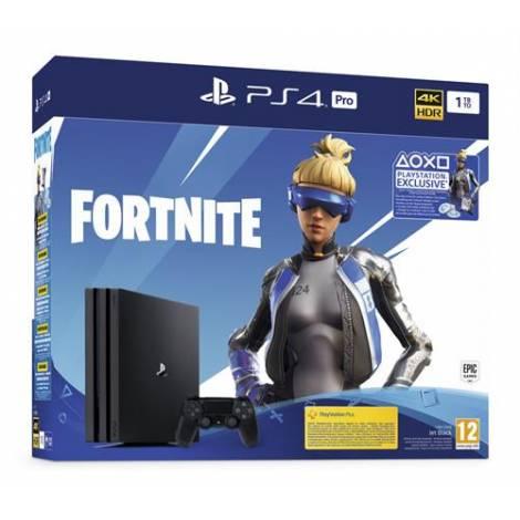 PlayStation 4 Pro 1TB Black - Fortnite Neo Versa Bundle