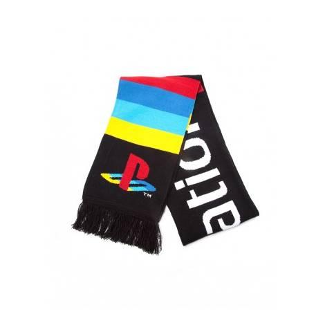 PlayStation - Big Logo Knitted Scarf (KS042619SNY)