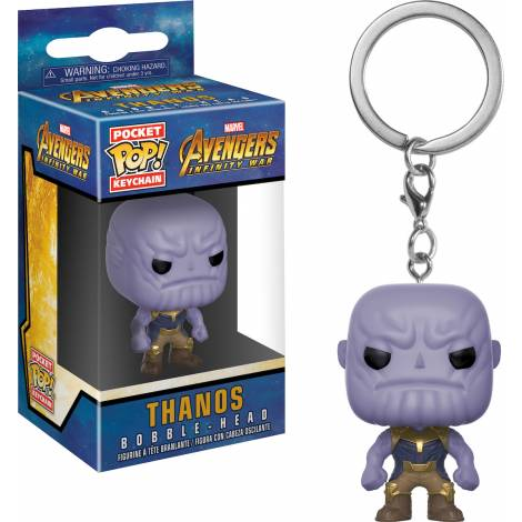 Pocket POP! Avengers Infinity War - Thanos Bobble-Head Figure Keychain