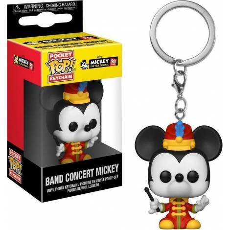 Pocket POP! Disney: Band Concert Mickey (90 Years) Vinyl Figure Keychain
