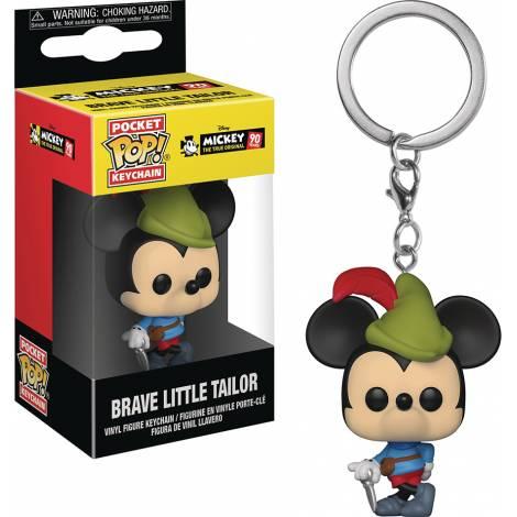 Pocket POP! Disney Mickey 90th Anniversary - Brave Little Tailor Vinyl Figure Keychain