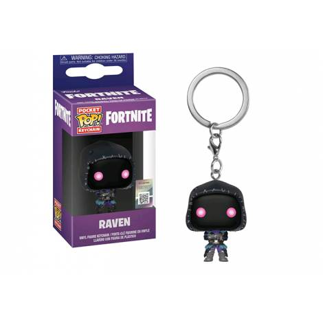 Pocket POP! Fortnite: Raven - Vinyl Figure Keychain