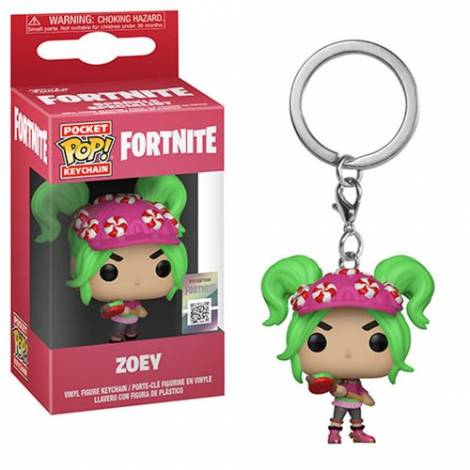 Pocket POP! Fortnite: Zoey - Vinyl Figure Keychain