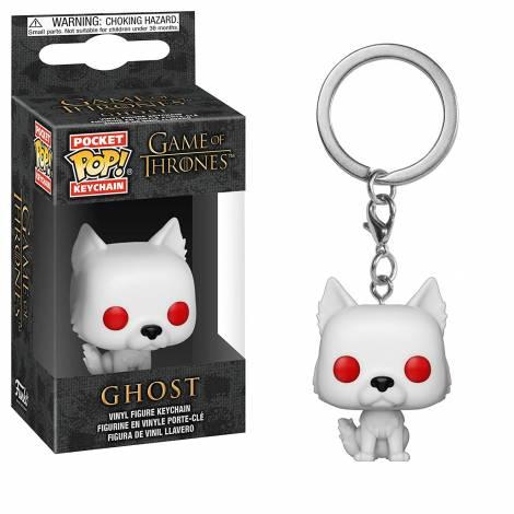 Pocket POP! Game of Thrones: Ghost Keychain