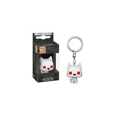 Pocket POP! Game of Thrones: Ghost Keychain