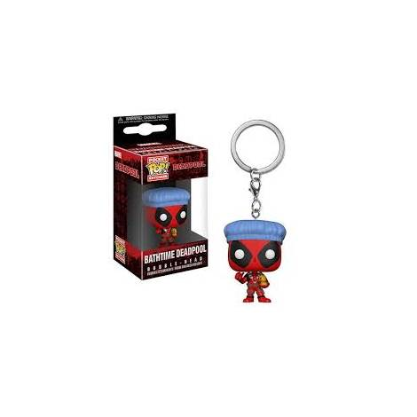 Pocket POP! Keychain: Deadpool Playtime: Deadpool Bathtime