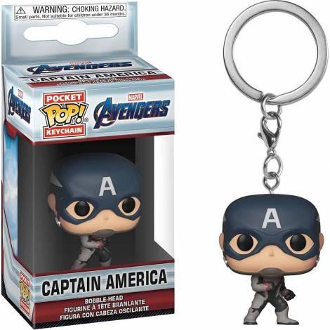 Pocket POP! Marvel Avengers - Captain America Vinyl Figure Keychain