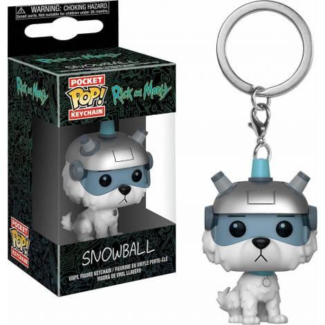 Pocket POP! Rick and Morty - Snowball Vinyl Figure Keychain