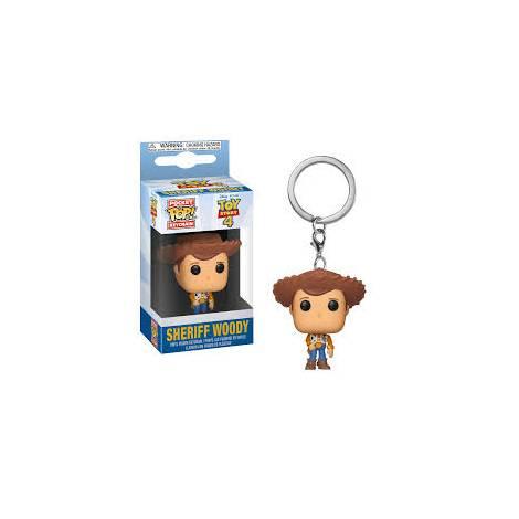 Pocket POP! Toy Story 4 - Sheriff Woody Vinyl Figure Keychain