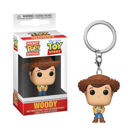 Pocket POP! Toy Story - Woody Keychain