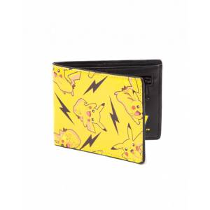 POKEMON - ALL OVER PIKACHU BIFOLD WALLET (MW060821POK)