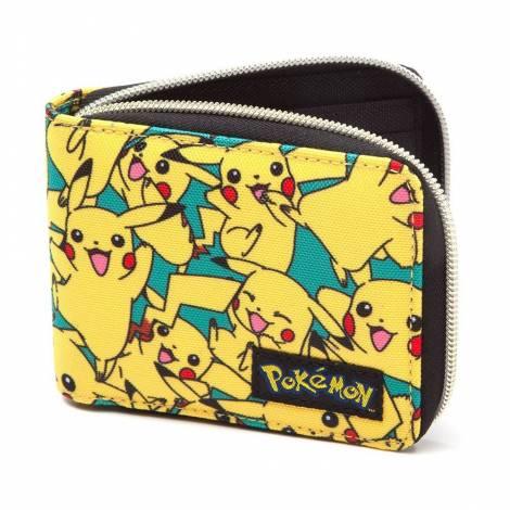 Pokemon - All Over Pikachu Zip Wallet (MW060818POK)