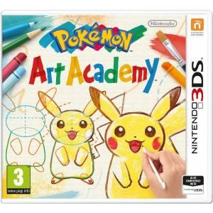 Pokemon Art Academy (NINTENDO 3DS) Δώρο Random Mini Figure Pokemon