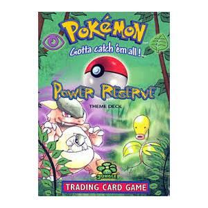 Pokemon Base Set Starter Deck - Power Reserve