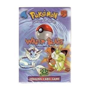 Pokemon Base Set Starter Deck Water Blast