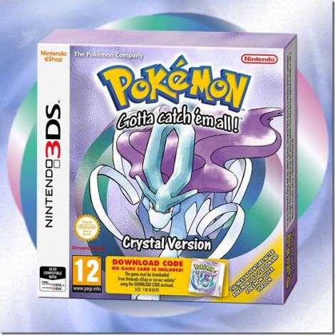 POKEMON CRYSTAL (Code In A Box) (3DS)