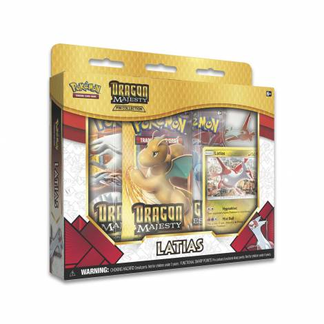 Pokemon - Dragon Majesty : Latias Pin Collection