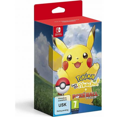 Pokemon Let's Go, Pikachu! & Poke Ball Plus(Nintendo Switch)