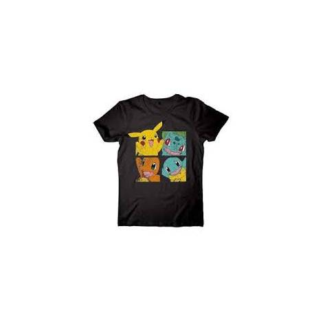 POKEMON - PIKACHU & FRIENDS T-SHIRT - SIZE L (TS120302POK-L)