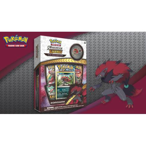 POKEMON: SHINING LEGENDS ZOROARK ΡΙΝ COLLECTION