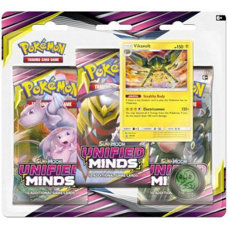 POKEMON: SM11 UNIFIED MINDS 3-BOOSTER BLISTER