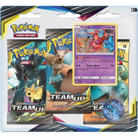 POKEMON: SM9 TEAM UP 3-BOOSTER BLISTER