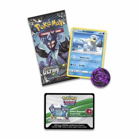 Pokemon Sun & Moon Blister Ultra Prism Checklane - Sandshrew