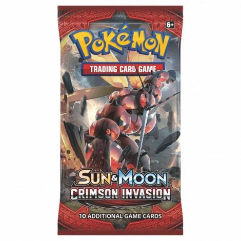 Pokemon Sun & Moon: Crimson Invasion Booster Pack