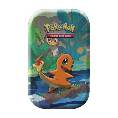 Pokemon TCG Mini Tin - Kanto Friends : Charmander