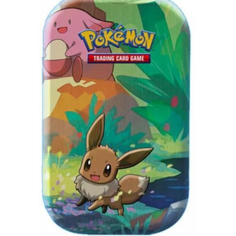 Pokemon TCG Mini Tin - Kanto Friends : Eevee